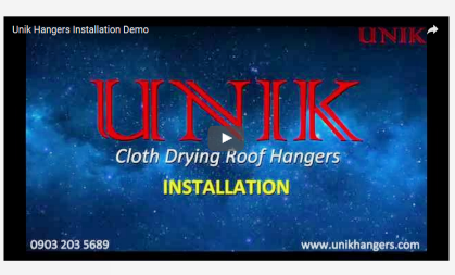 How to Install Unik Hangers (Installation Demo)